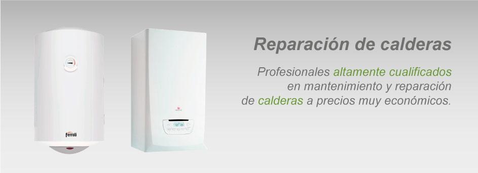 servicio técnico calderas Bilbao